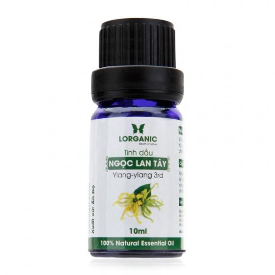 Tinh dầu ngọc lan tây Lorganic Ylang-Ylang Natural Essential Oil 10ml