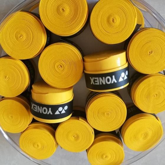 Quấn cán tennis, cầu lông hộp 30 cái YONEX mềm mại độ bền cao - POPO Collection (Xanh chuối)