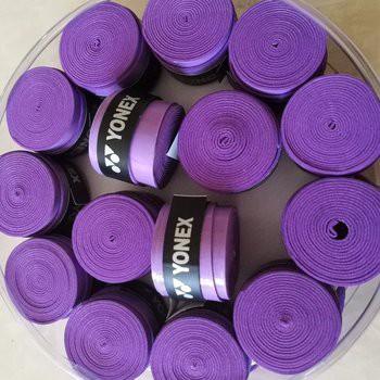 Quấn cán tennis, cầu lông hộp 30 cái YONEX mềm mại độ bền cao - POPO Collection (Tím)
