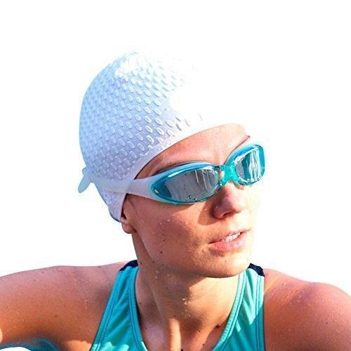Bộ kính bơi, mũ bơi, bịt tai kẹp mũi G300 POPO Collection (Xanh ngọc)