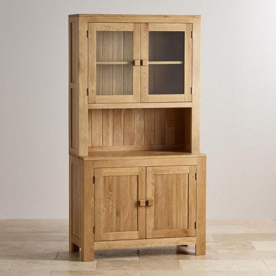 Tủ bếp nhỏ Capri gỗ sồi 1m  - Cozino