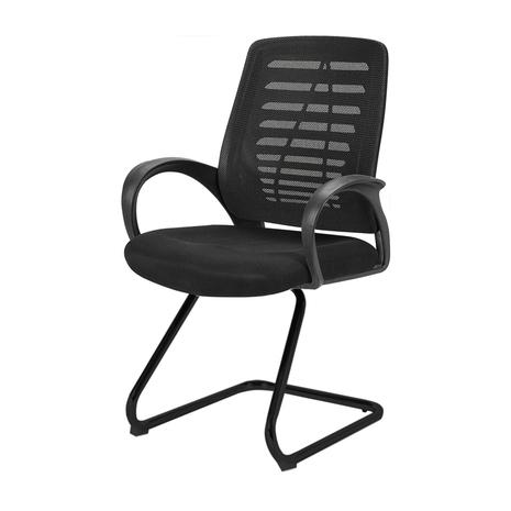 Ghế lưới CZN503 chân quỳ màu đen - COZINO