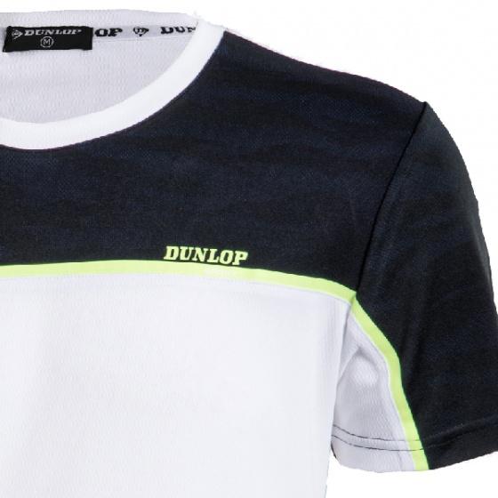 Áo thun thể thao nam Dunlop - DATES8070-1-WT (Trắng)