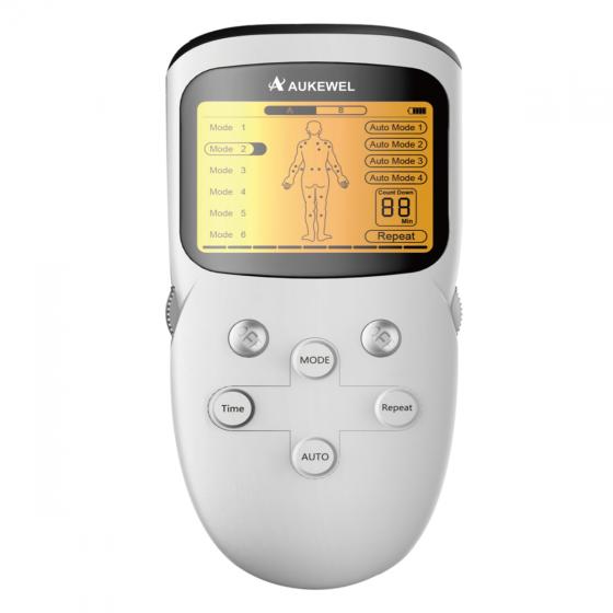 Máy massage xung điện trị liệu 8 điện cực Aukewel - Technology Germany