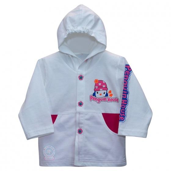 Áo khoác mỏng (nón) - AN0164 - Size 5, 6 ( Hồng ) - Hello B&B