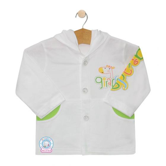Áo khoác mỏng (nón) - AN0164 - Size 7, 8 ( Xanh lá ) - HELLO B&B