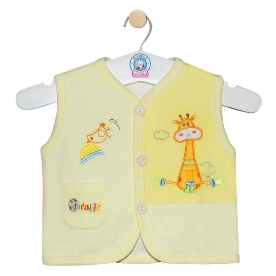 Áo ghilê màu - AN0333 - Size 1,2 ( Vàng - mẫu ngẫu nhiên ) - HELLO B&B