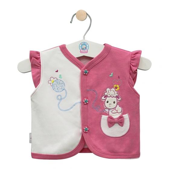 Áo ghilê màu - AN0333 - Size 5 ( Hồng ) - HELLO B&B