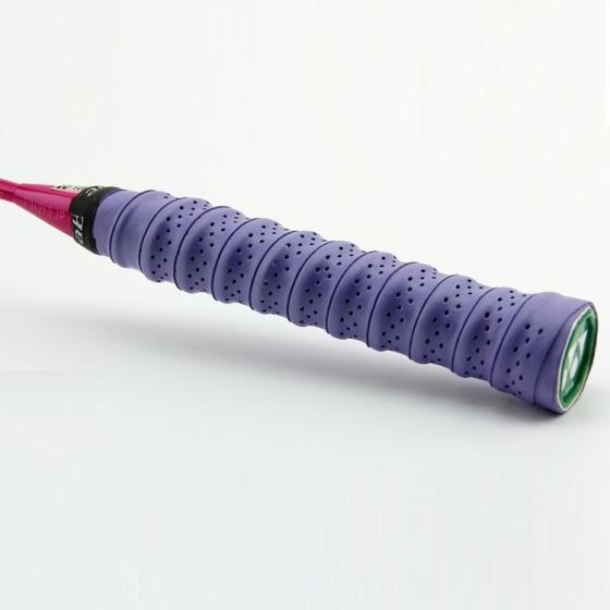 Quấn cán tennis có gân chống trơn, bộ 5 cái; thoáng khí thoát mồ hôi POPO Collection (Tím)