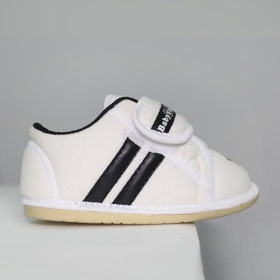 Giày bé trai BabyOne SS0832 HELLO B&B - Size 19,20,21(Màu trắng)