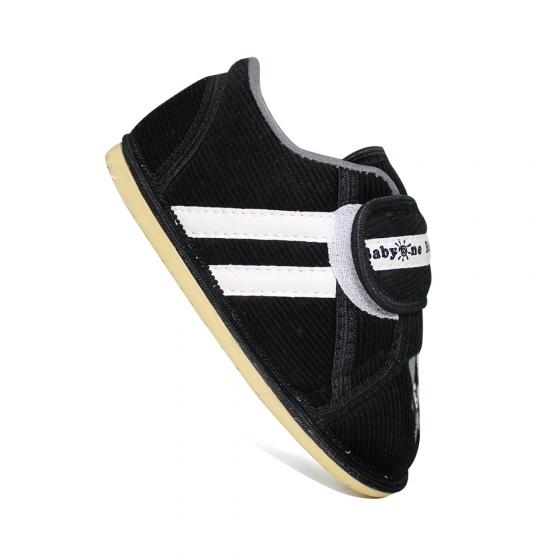 Giày bé trai BabyOne SS0832 HELLO B&B - Size 19,20,21(Màu đen)