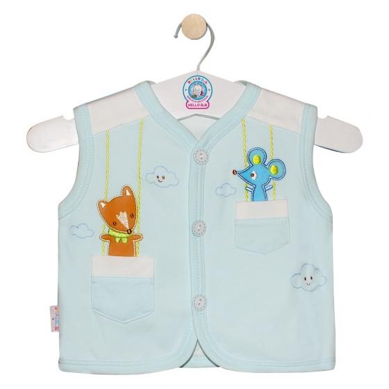 Áo ghilê màu - AN0333 - Size 5 ( Xanh ngọc - Mẫu ngẫu nhiên ) - HELLO B&B