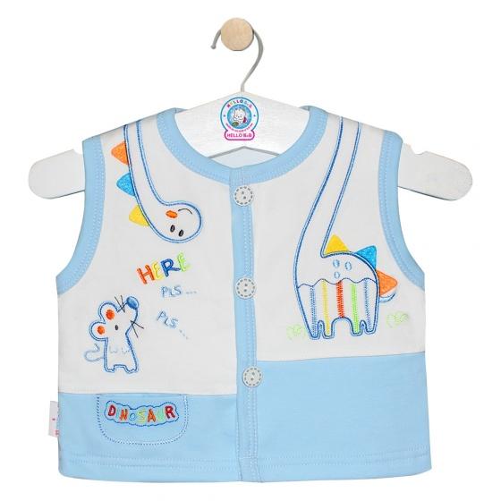 Áo ghilê màu - AN0333 - Size 1, 2 ( Xanh dương - Mẫu ngẫu nhiên )  - HELLO B&B