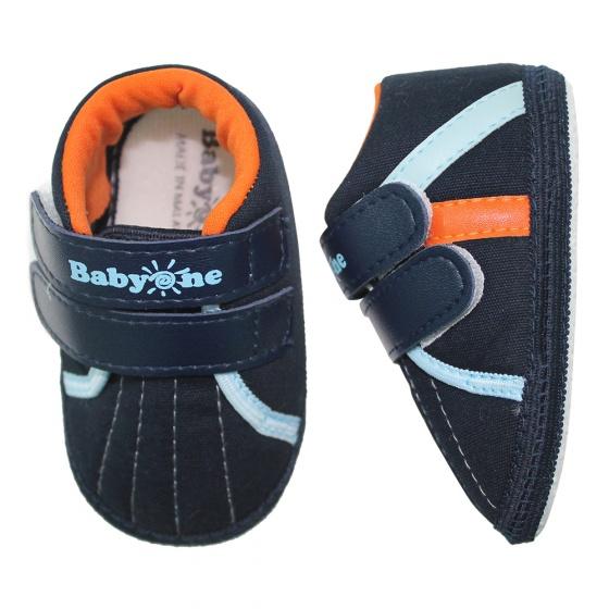 Giày tập đi bé trai BabyOne SS0816 - HELLO B&B - Size 17, 18 (Xanh đen)
