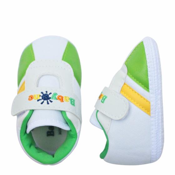 Giày tập đi bé trai BabyOne SS0819 - HELLO B&B - Size 17,18 (Xanh lá)