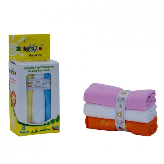 Khăn sữa BabyOne (2 lớp) - SS0642 - Free size - HELLO B&B