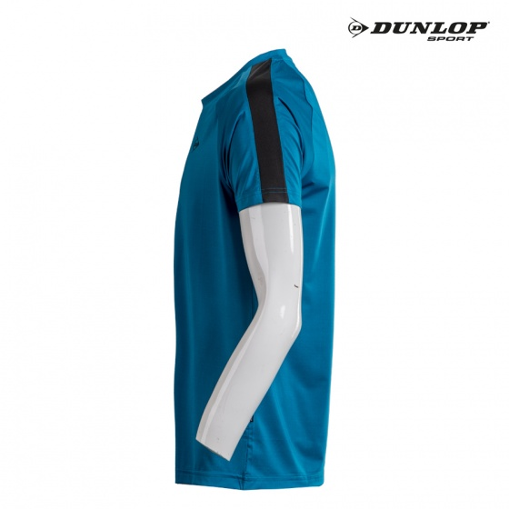Áo cầu lông nam Dunlop - DABAS8030-1-BUD (Xanh cổ vịt)