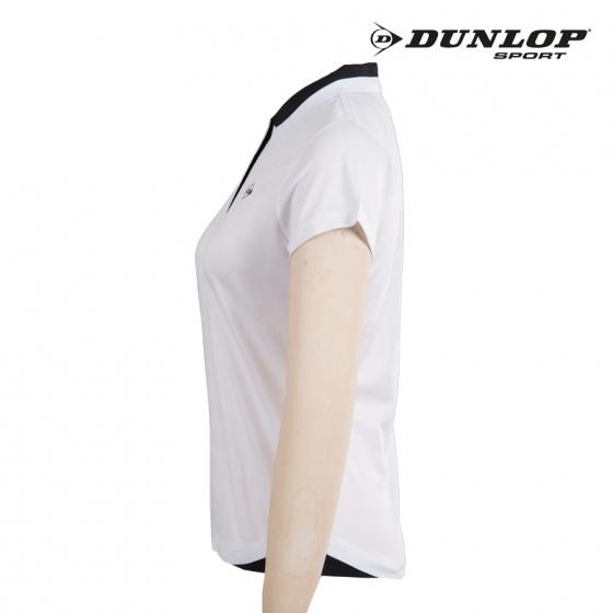 Áo tennis nữ Dunlop - DATES8083-2C-WT (Trắng)