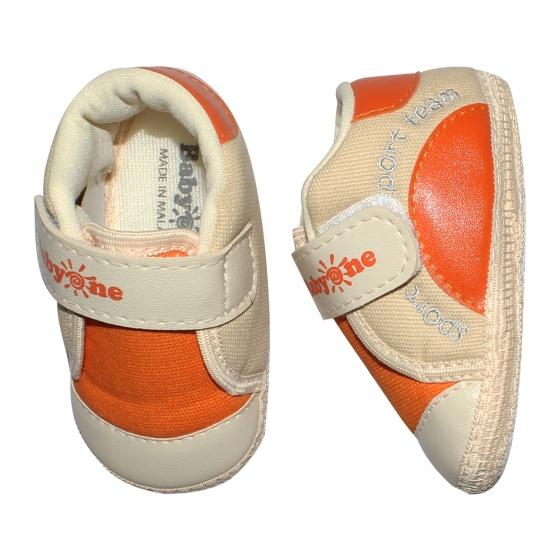 Giày tập đi bé trai BabyOne SS0817 - HELLO B&B - Size 17,18 (Màu da)
