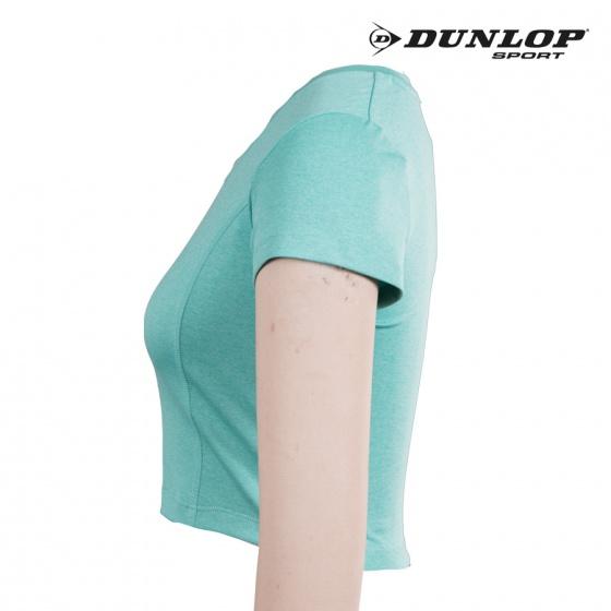 Áo croptop nữ Dunlop - DAGYS8105-2-GM (Xanh bạc hà)