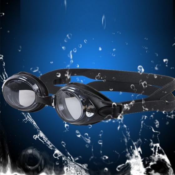 Kính bơi cận thế hệ mới, mắt trong độ cận từ 1.5 độ đến 8.0 độ chống uv, chống hấp hơi POPO Collection (Đen - Cận 2.5)