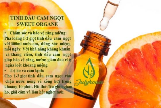 Tinh dầu cam ngọt 10ml