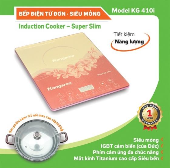 Bếp điện từ đơn siêu mỏng Kangaroo KG410i