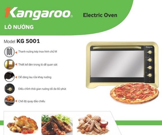 Lò nướng Kangaroo KG4001