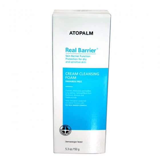 Sữa rửa mặt Real Barrier Cream Cleansing Foam (150g)