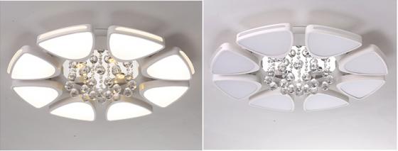 Đèn mâm ốp trần pha lê 04 - OPLADY04 - Đèn trang trí Homelight