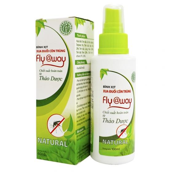Bình xịt xua đuổi côn trùng Fly@way cho bé