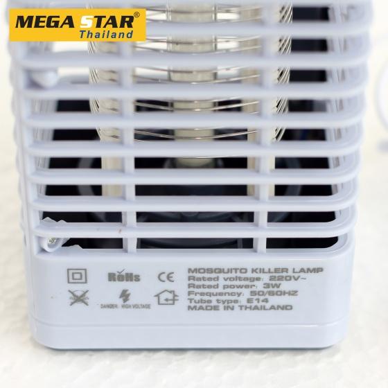 Đèn bắt muỗi cao cấp Mega Star DM003