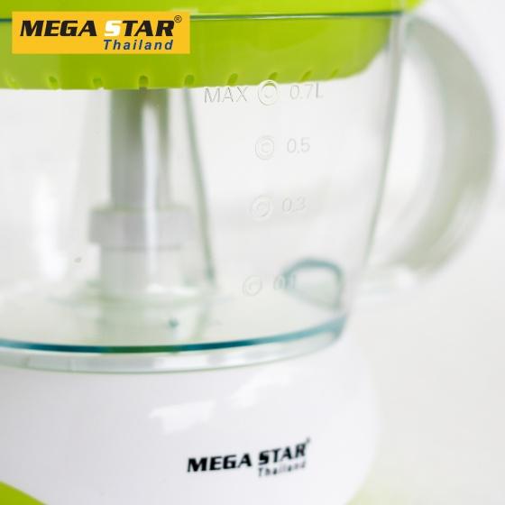 Máy vắt cam cao cấp tiêu chuẩn Châu Âu Mega Star CJ-618 (xanh)- - Hàng nhập khẩu