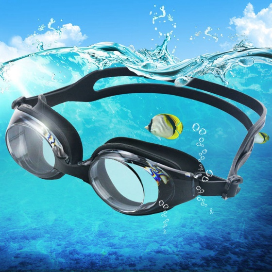 Kính bơi cận 2 độ, chống trầy, chống uv, chống hấp hơi GS02