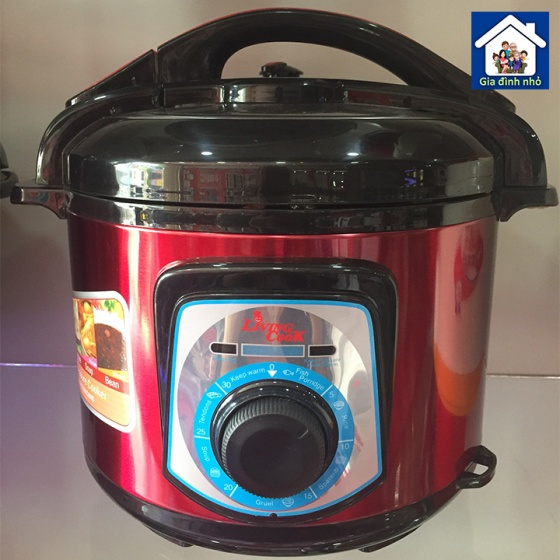 Nồi áp suất điện cao cấp 6L Livingcook LC-839 2