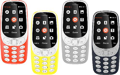 Điện thoại di động NOKIA 3310 DS GREY