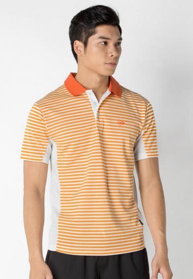 Áo thể thao cầu lông nam Dunlop - DABF10012-1C-WO (Trắng cam)