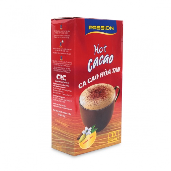 Passion hot cacao (10 gói)