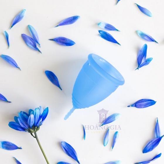Cốc nguyệt san Lunette, Phần Lan - Hàng nhập khẩu chính hãng (màu Xanh dương, size 2, hộp hoa)