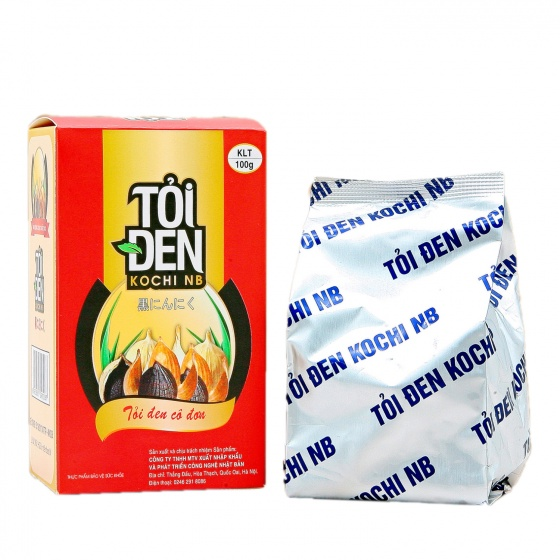 Combo 3 hộp tỏi đen Kochi cô đơn bóc vỏ 100g (dùng ngâm rượu)