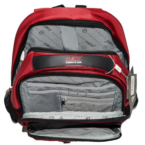 Balo laptop HASUN HS 654 - Đỏ