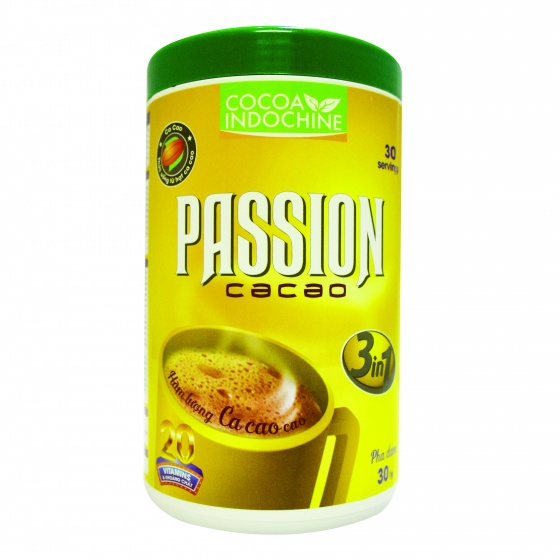 Cacao Passion 3 in 1 (hũ 450g)
