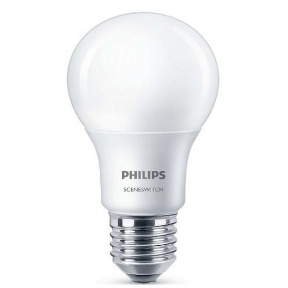 Bóng đèn Philips LED Scene Switch 2 cấp độ 6.5W đuôi E27 P45 (Ánh sáng trắng)