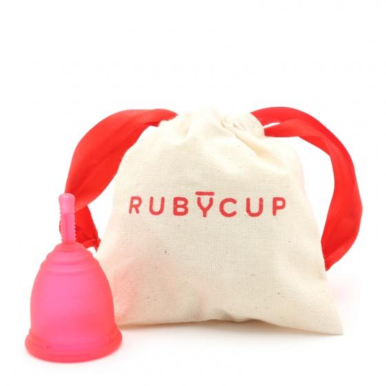 Cốc nguyệt san Ruby Cup - Nhập khẩu chính hãng từ Anh (màu đỏ, size S)