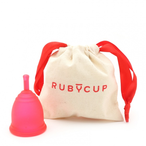Cốc nguyệt san Ruby Cup - Nhập khẩu chính hãng từ Anh (màu đỏ, size M)