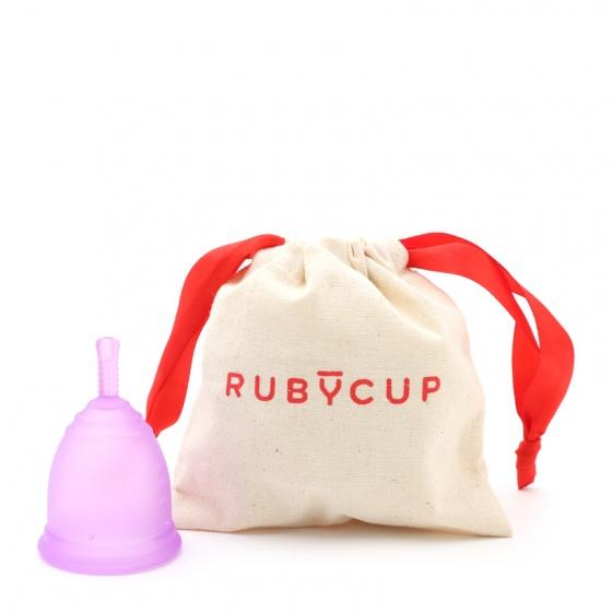 Cốc nguyệt san Ruby Cup - Nhập khẩu chính hãng từ Anh (màu tím, size M)