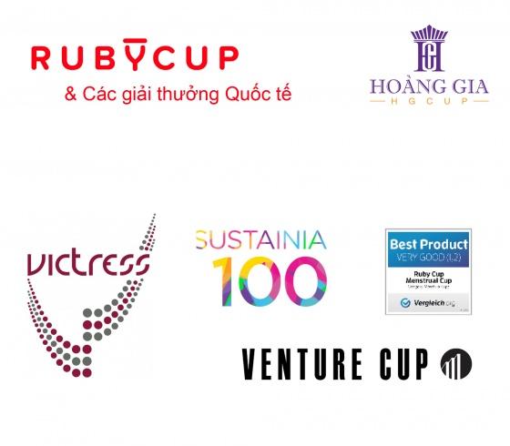 Cốc nguyệt san Ruby Cup - Nhập khẩu chính hãng từ Anh (màu trong suốt, size S)