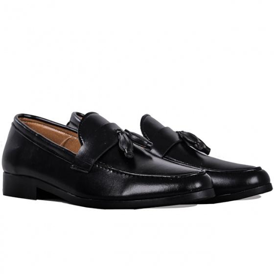 Giày lười nam thời trang Zapas GL018 (đen )