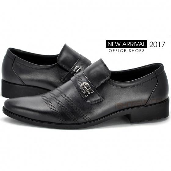 Giày nam công sở IS108 màu đen