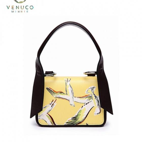 Túi FRB quai dài Venuco F02 Madrid màu vàng bird